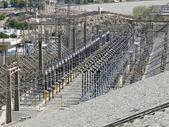 Generating plant in Aswan — Stock Photo