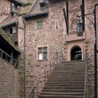 Stairway at the Haut-Koenigsbourg Castle — Stock Photo