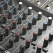 Studio mixer detail — Stock Photo #7656154