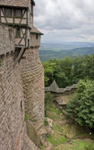 Around Haut-Koenigsbourg Castle in France — Stock Photo