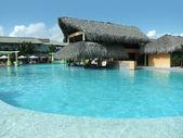 Turystyczne resort w Republice Dominikańskiej — Zdjęcie stockowe