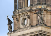 Stone sculptures at the Berlin Cathedral — Stock Photo