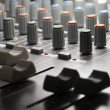 Stock Photo: Studio mixer detail