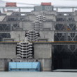 Three Gorges Dam detail — Stock Photo