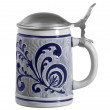 Blue ornamented stein — Stock Photo #7669541