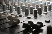 Studio mixer detail — Stock Photo