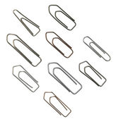 Paper clip variation — Stock Photo