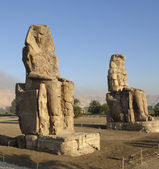 Colossi of Memnon in Egypt — Fotografia Stock