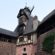Detail of the Haut-Koenigsbourg Castle - Stock Photo