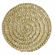 Stock Photo: Plaited round mat
