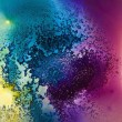 Abstract dye composition — Stock Photo