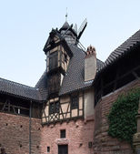 Detail of the Haut-Koenigsbourg Castle — Fotografia Stock