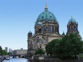 Berlin Cathedral at summer time — Stock Photo