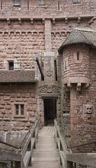 Passage in the Haut-Koenigsbourg Castle — Stock Photo