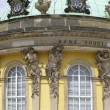 Detail of Sanssouci palace in Potsdam (Germany) in sunny ambiance — Foto Stock #7701632