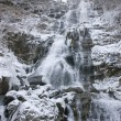 Stock Photo: Todtnau Waterfall at winter time