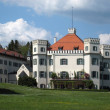 Stock Photo: Pictorial Schloss Possenhofen
