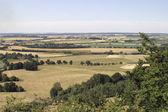 Panoramic view at hohenlohe — Stock Photo