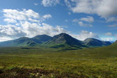 Arcadian scenery around Rannoch Moor — Stock Photo