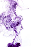 Purple smoke detail — Stock Photo