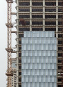Construction in china — Foto Stock