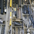 Drawer and tools — Stock Photo