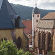 Stiftskirche and Kilianskapelle in Wertheim — Stock Photo #7744280