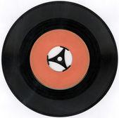Old vinyl record — Stock Photo