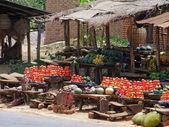 Market in Uganda — Stock Photo