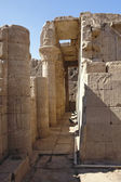 Architectural detail at the Temple of Edfu — Stock Photo