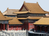 Detail of the Forbidden City in Beijing — Stock Photo
