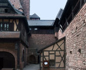 Inside Haut-Koenigsbourg Castle in France — Stock Photo