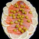 Salted salmon fish — Stock Photo #7306337