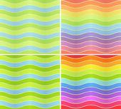 Wavy lines — Stock Vector