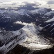 Stock Photo: Aerial view of Spitsbergen in Svalbard, Norway