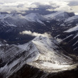 Aerial view of Spitsbergen in Svalbard, Norway - Stock Photo