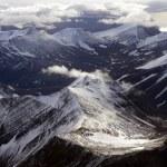 Aerial view of Spitsbergen in Svalbard, Norway — Stock Photo