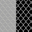 Shiny wire chain link fence — Stock Photo #6943545