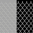Foto de Stock  : Shiny wire chain link fence