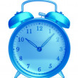 Stock Photo: Glass alarm clock