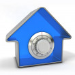 Foto Stock: Home security concept