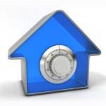 koncepcja bezpieczeństwa w domu — Zdjęcie stockowe