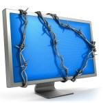 Concept de sécurité informatique — Photo