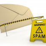 anti spam concept — Stockfoto