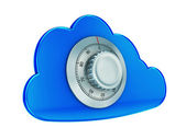 Secure cloud computing — Foto Stock