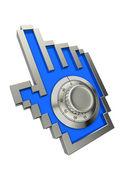 Komputer koncepcja bezpieczeństwa — Zdjęcie stockowe