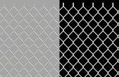 Glanzende draad ketting link hek — Stockfoto