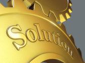 Lösning koncept — Stockfoto
