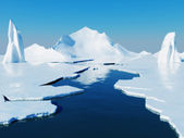 Globala uppvärmningen koncept — Stockfoto