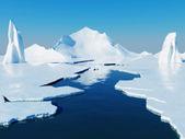 Globální oteplování koncepce — Stock fotografie